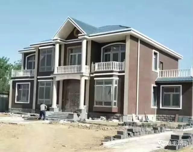 套二层农村别墅,多卧室,造价35万经典实用又省钱