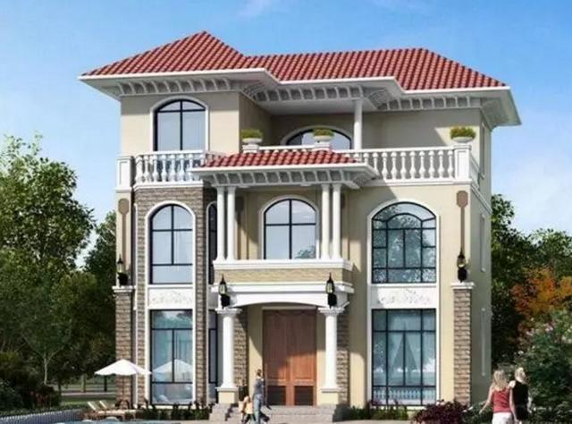 8套豪华别墅设计图,大气精致,你选哪个