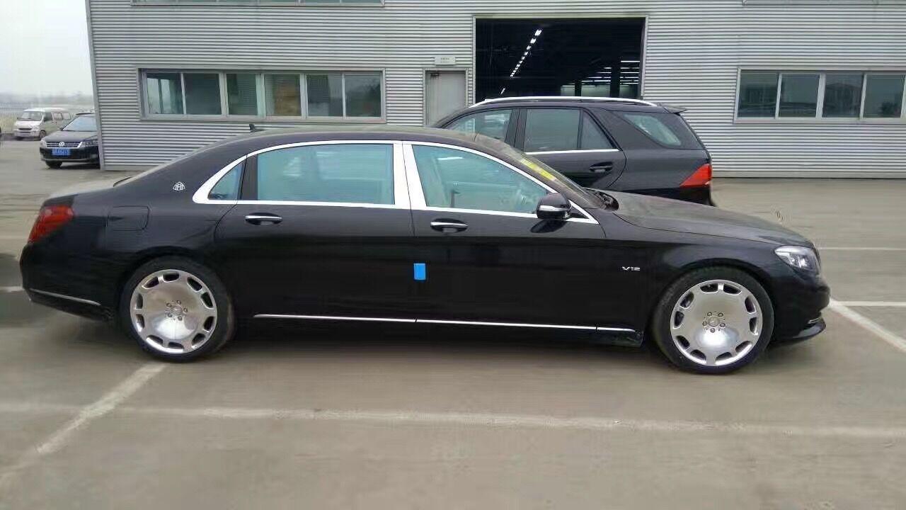 奔驰迈巴赫s600 高端行政商务座驾价格图片