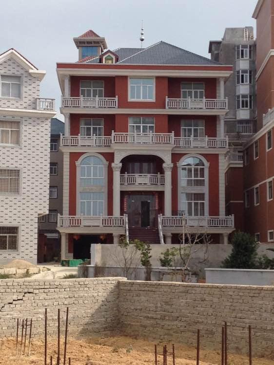 3套4层农村别墅,农村土豪最爱的设计!
