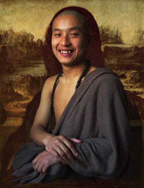 《蒙娜丽莎的转世微笑》图片