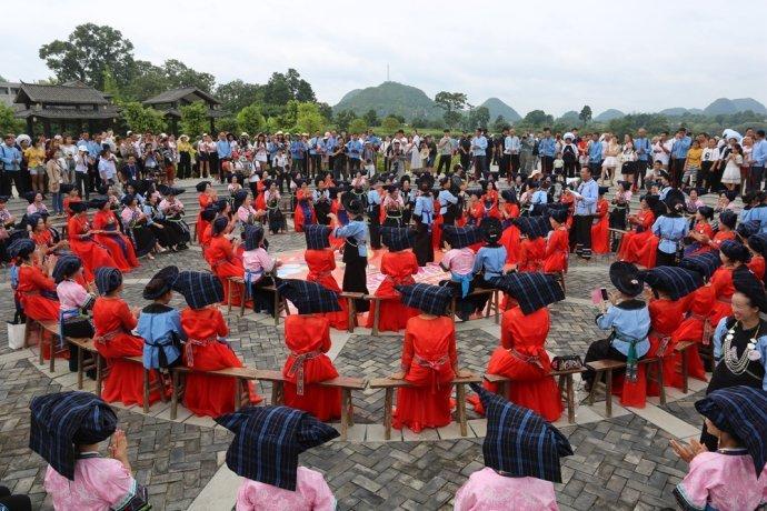 贵州贞丰99对新人举行史上规模最大的布依族集体婚礼,将挑战吉尼斯世界记录 - 千帆远澋 - 千帆远澋