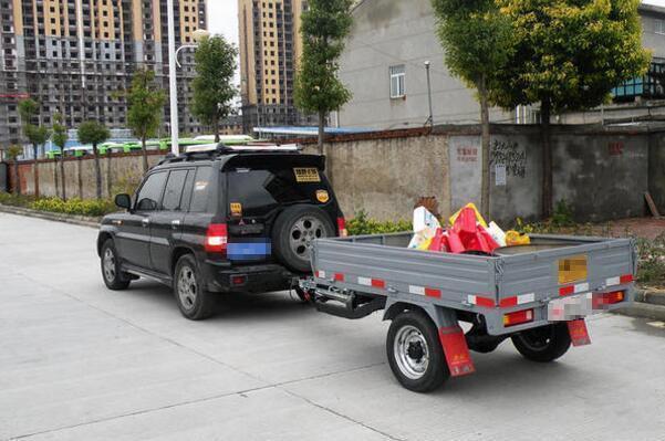 你的SUV后就少这辆小拖车了