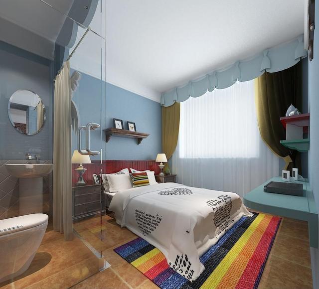 单身公寓装修效果图 一个人也要活得出彩