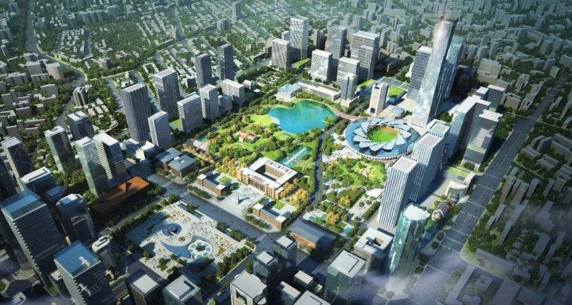 而成都欲将其打造为一个占地上千亩,及文化中心,城市遗址,中央公园和