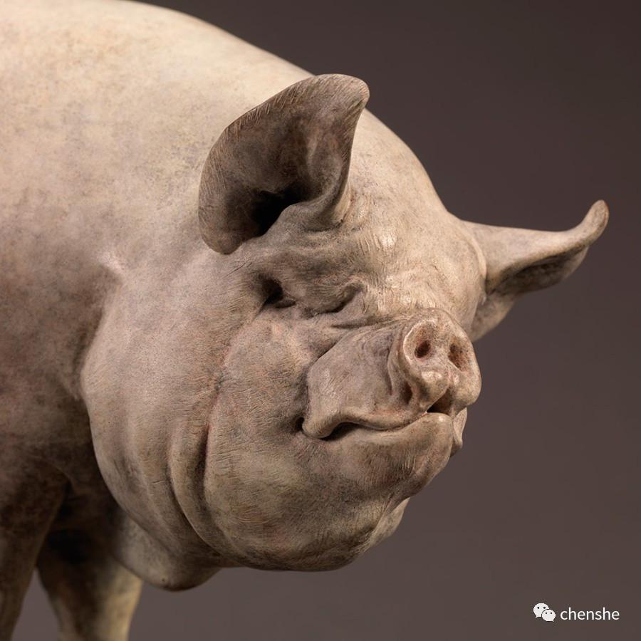 英国动物雕塑家nick bibby