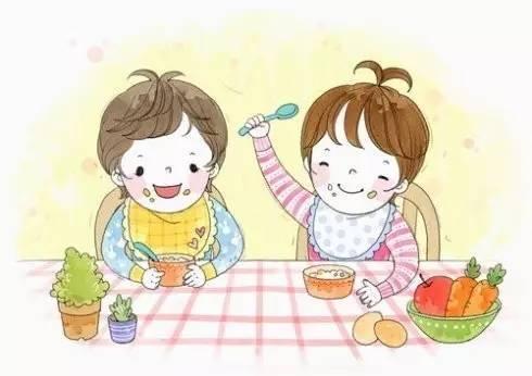 1.培养孩子自己吃饭以及和幼儿园匹配的饮食习惯图片