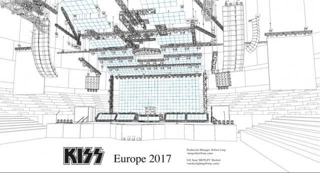 舞台设计cad平面图