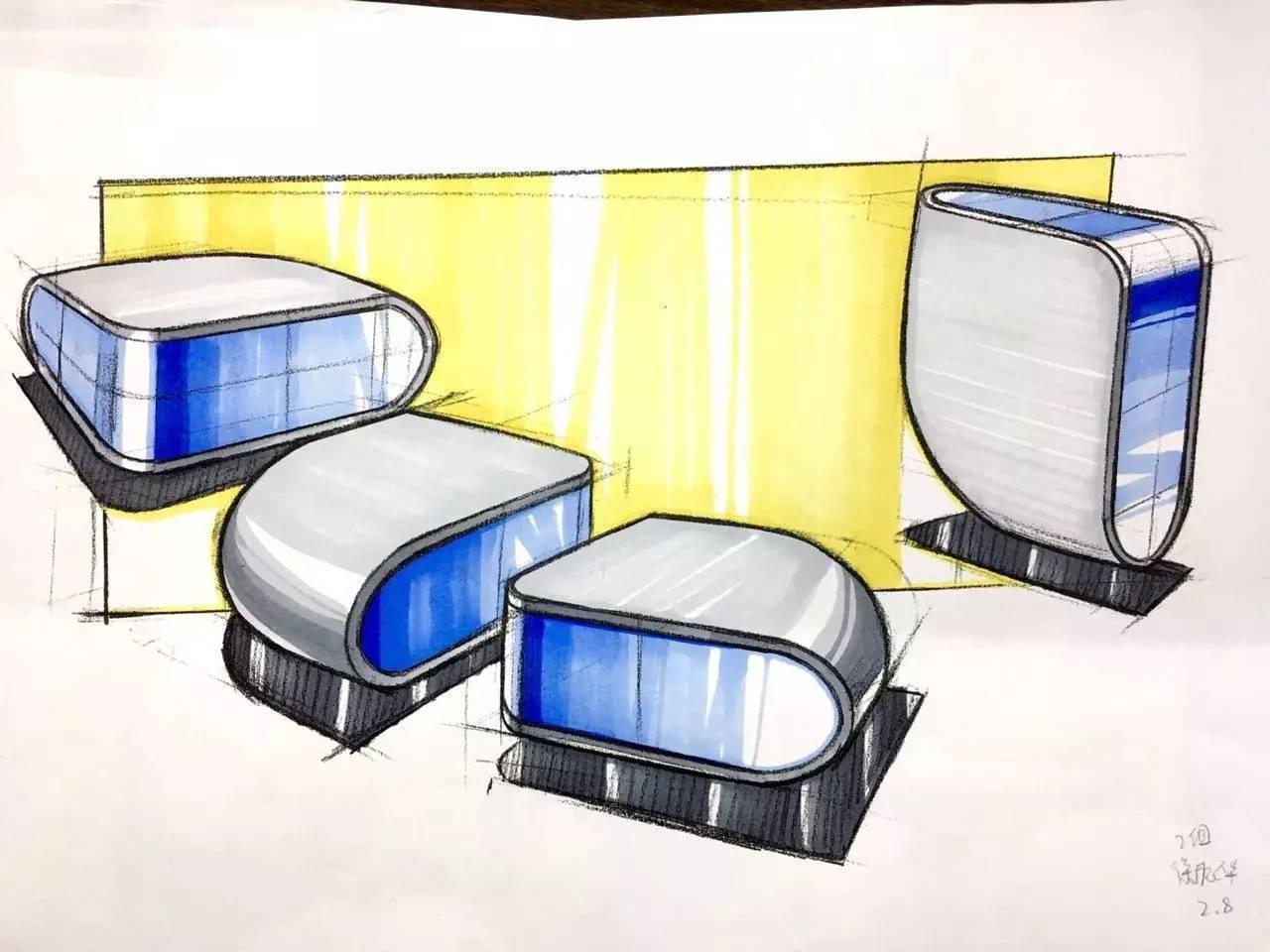 工业设计手绘马克笔-工业设计产品手绘|工业设计手绘