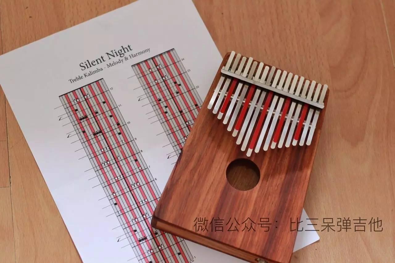 卡林巴琴弹奏|silent night 拇指琴版
