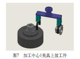 根据工件的外形特点设计机器人气动手爪部件,包含气动,传感器及机械图片
