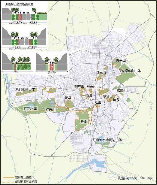 城市山体保护规划控制体系研究——以乌鲁木齐市山体