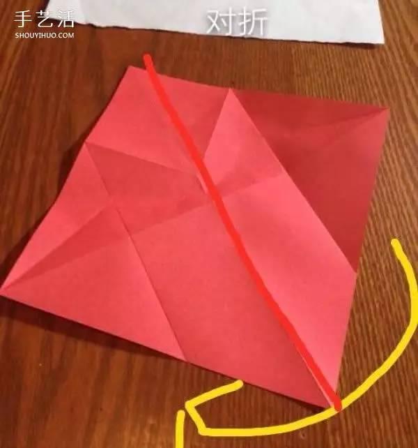 折纸贵宾犬的方法图解 立体贵宾犬的折法过程