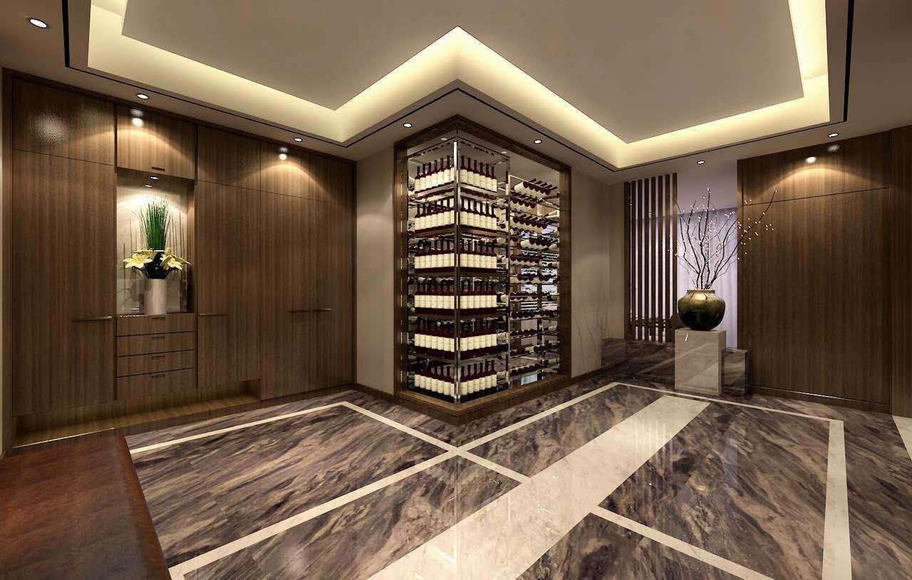 贵阳320平米大平层装修效果图,现代风格设计案例!
