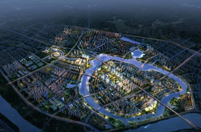 """金山湖片区未来规划建""""惠州塔"""",""""惠州眼""""摩天轮,地铁2号线金山湖站变"""