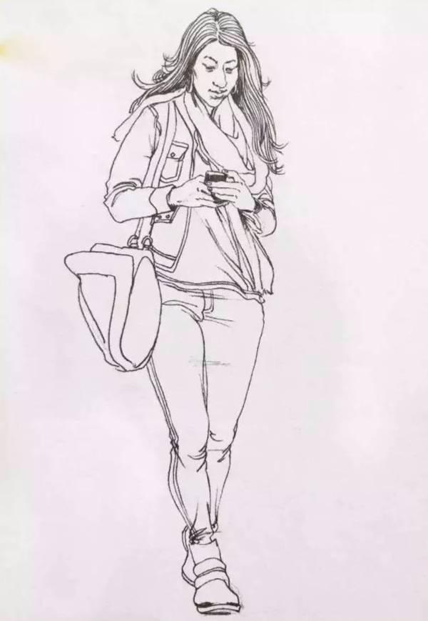 手绘动漫人物怎么构图