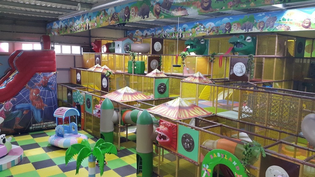 室内儿童乐园不能忽视主题文化的建设