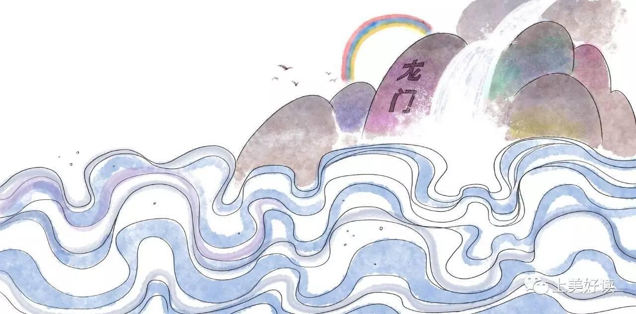 2017上海书展 | 鱼跃龙门,勤能补拙——中国经典故事绘本系列之《鲤鱼