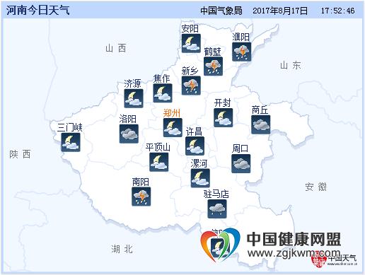黄淮南部,江汉,江淮等地有中到大雨,其中河南南部,湖北北部,安徽北部图片