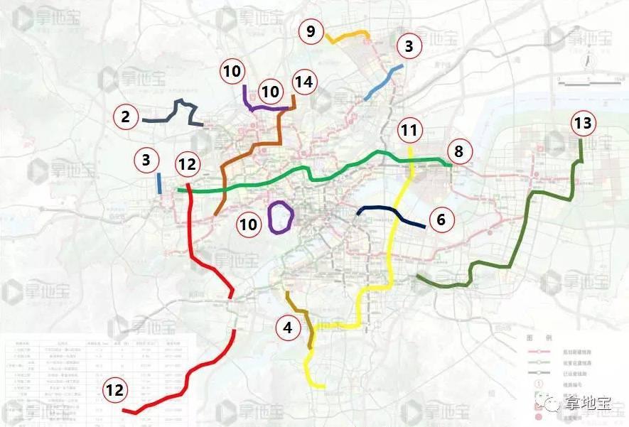 期规划_萧山南片要通地铁了?杭州将启动地铁四期规划,线路走向