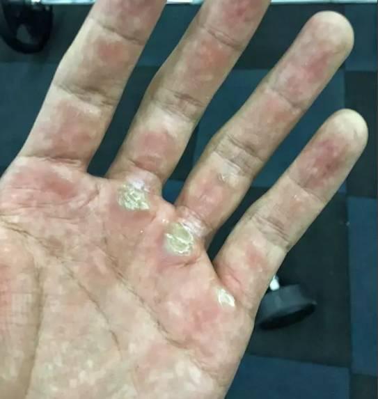 撸流人_撸多了的肌肉男,他们的手是什么样的?