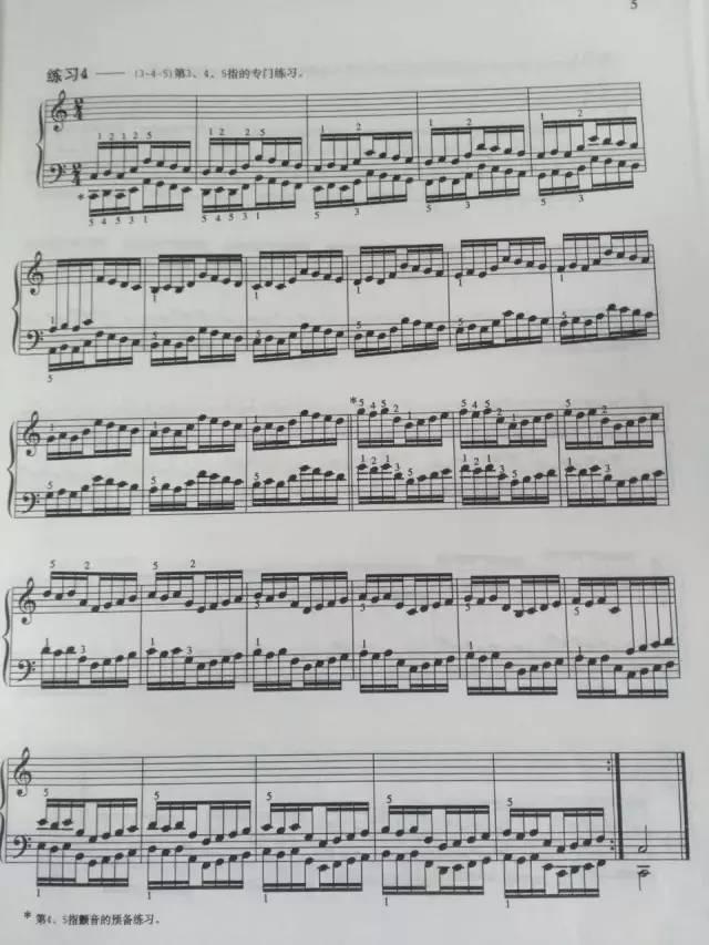 哈农第9首钢琴谱子