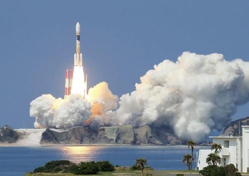"""日本成功发射一颗导航卫星,欲建""""日本版GPS"""""""