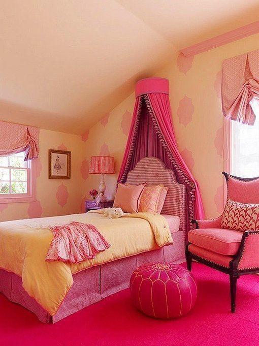 女孩简约房间设计图卧室图片