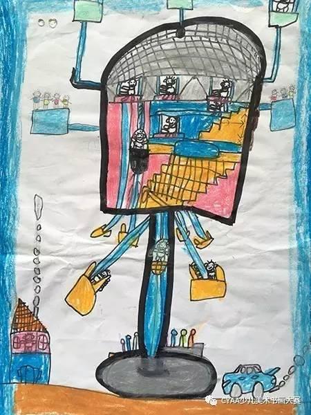 【cyaa微画展∣1189】湖北省武汉市小太阳双语幼儿园梦想杯参赛作品展图片