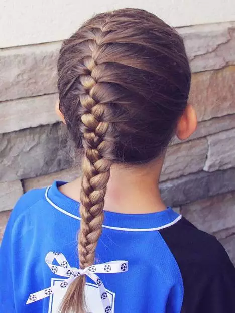 儿童编发也能玩转花式,这几种发型编法值得一试!