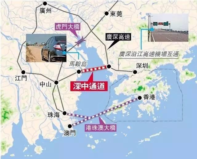 15分钟 深圳地铁将直通到珠海边上