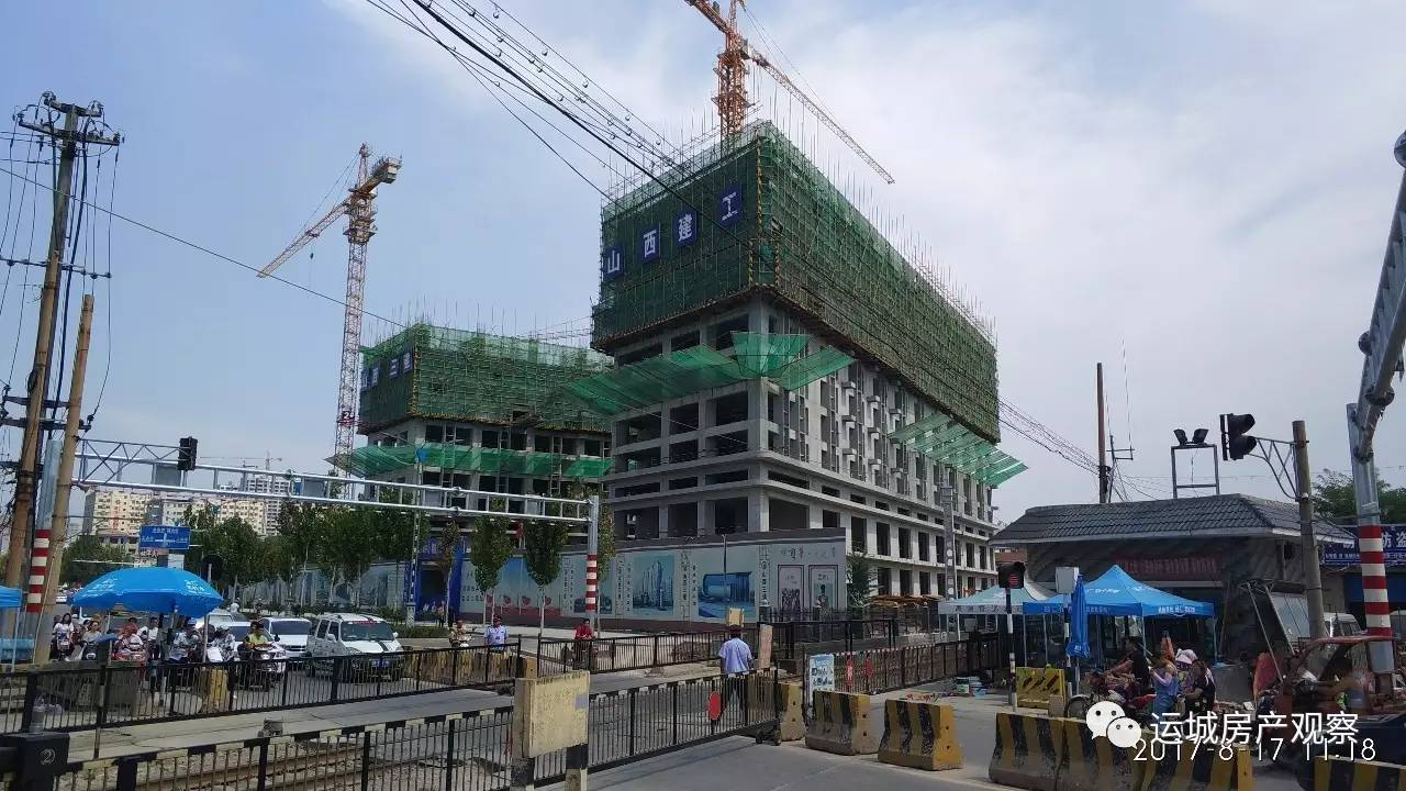 人民北路 中央时代广场 玲珑公馆 南风新都汇工程进度2017.8.18