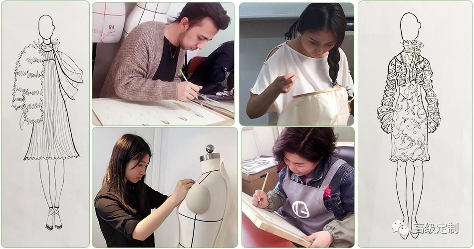 【高定课程】服装设计精品课程(2017年11月开课)情趣视频蕾丝图片