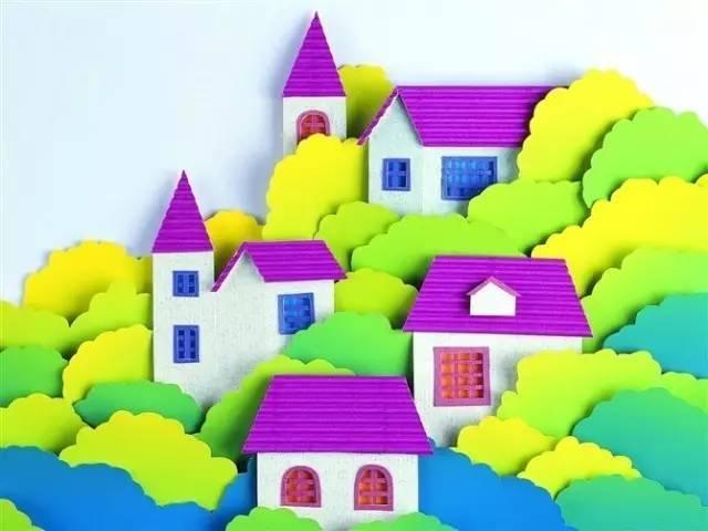 开学,幼儿园老师必会的45个墙面创意粘贴手工 收藏