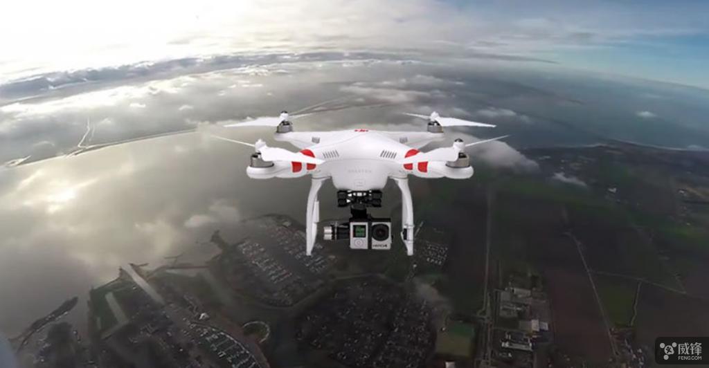 大疆无人机升到11000英尺高空能拍到什么