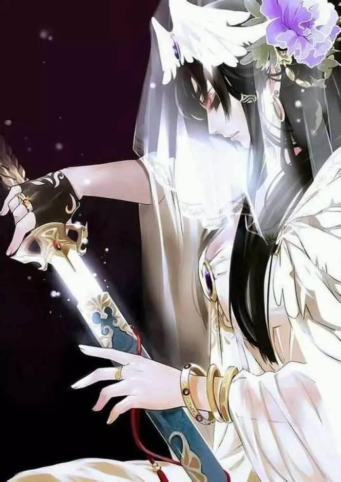 古风美女持剑壁纸