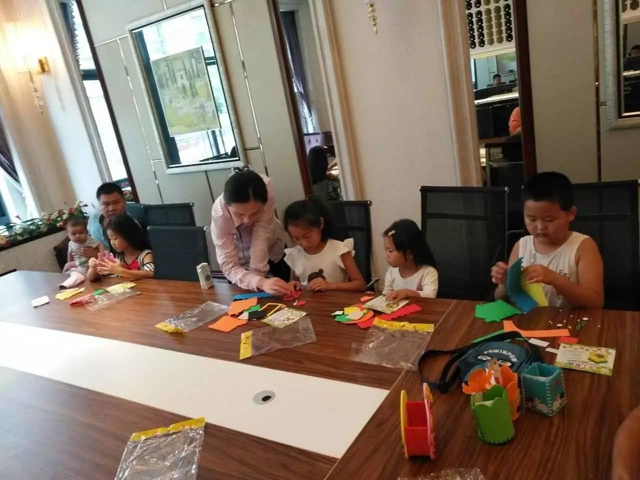 徐州项目:diy笔筒活动圆满结束!