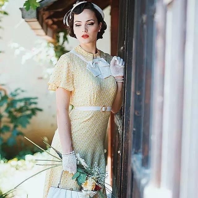 """这个被称""""生错时代""""的女人,用她的美穿越了时空!"""