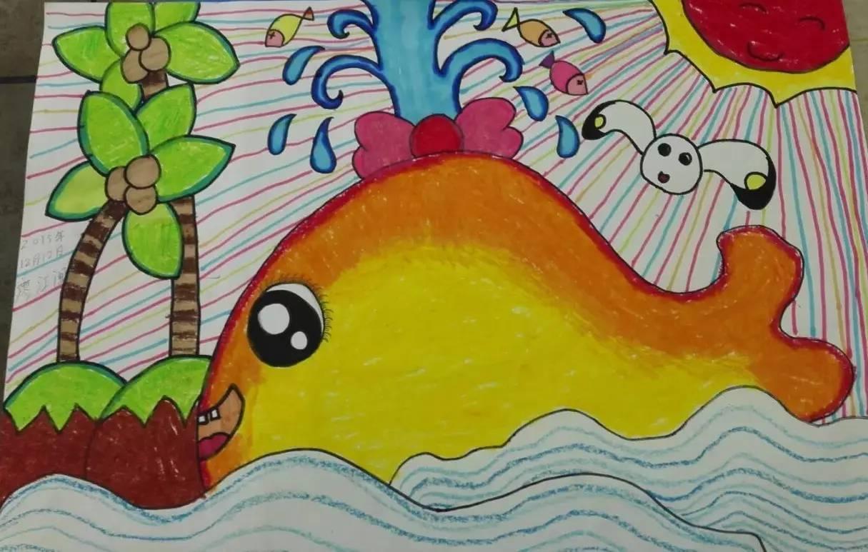 创意儿童画,素描,报名送美术用品图片