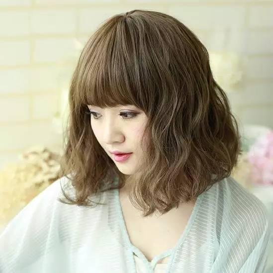 哪些发型适合圆脸的女生?图片
