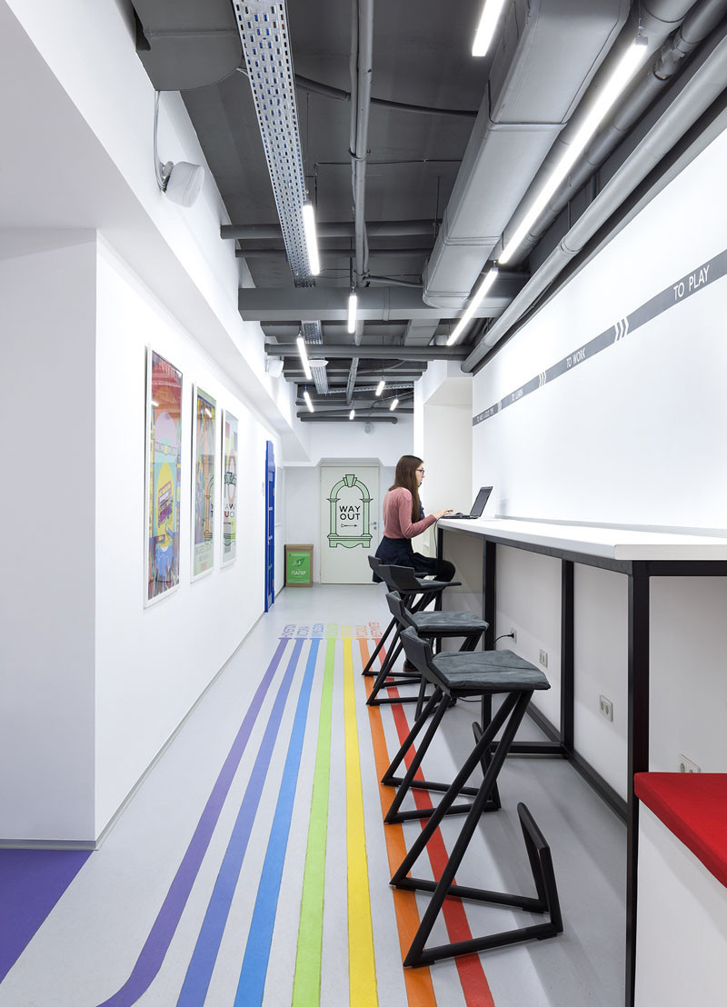 语言培训学校教室装修设计 看了也想报名学习
