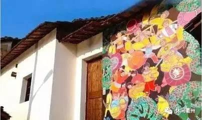 衢州如此艺术的乡村!