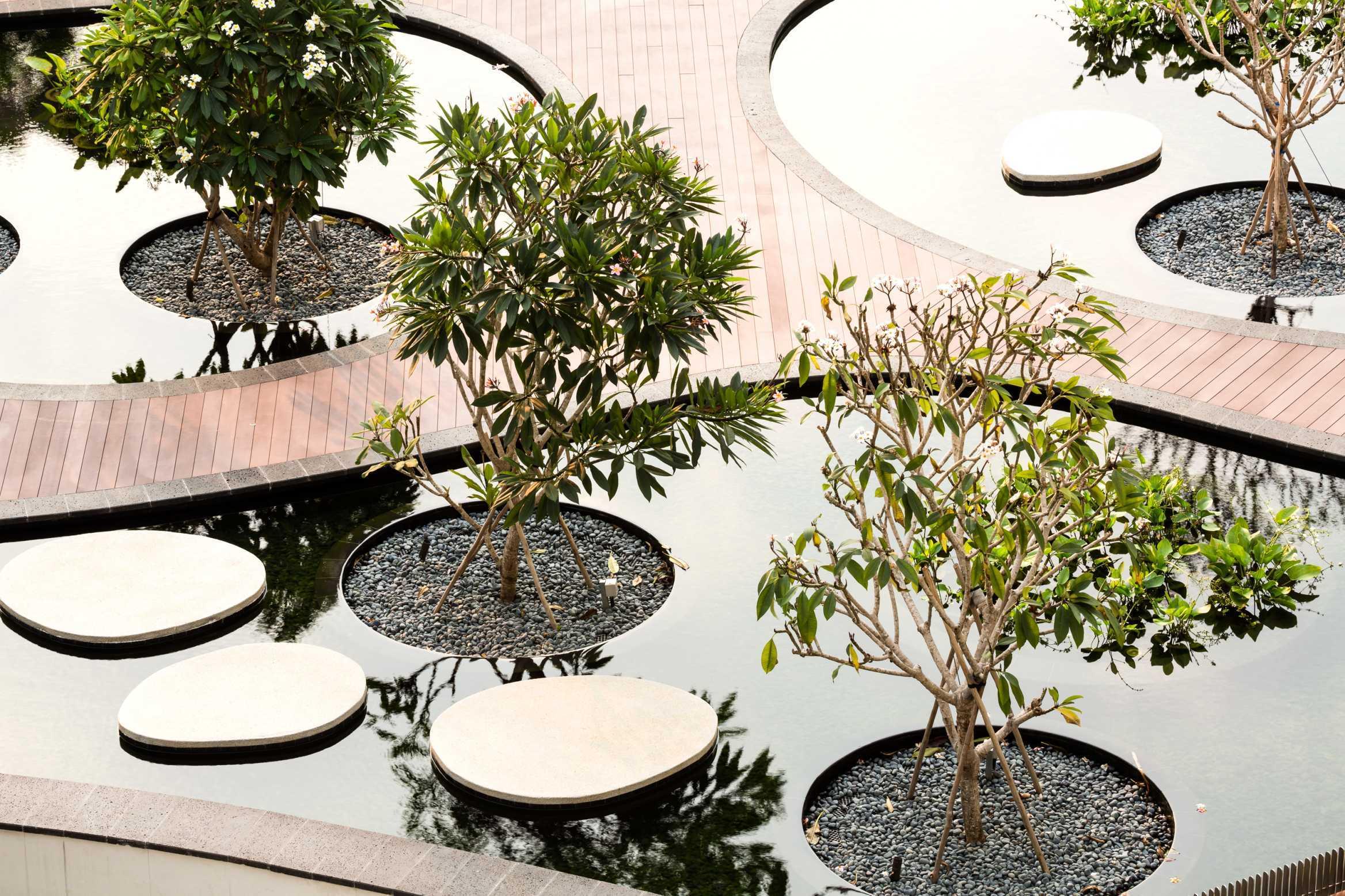 ▼新加坡cape royale 滨海住宅景观设计图片