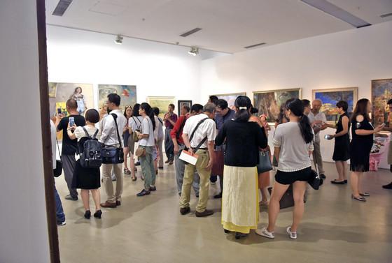 当代油画语言研究展今日美术馆盛大开幕