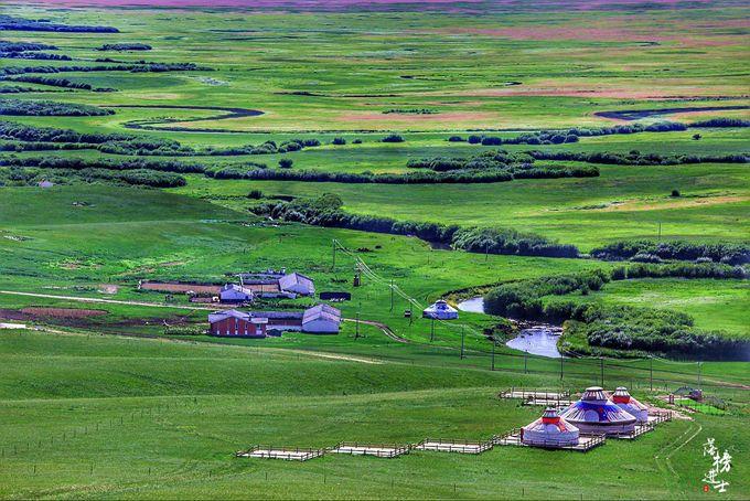盖山西图片_乌拉盖九曲湾,内蒙大草原最美的净土_搜狐旅游_搜狐网