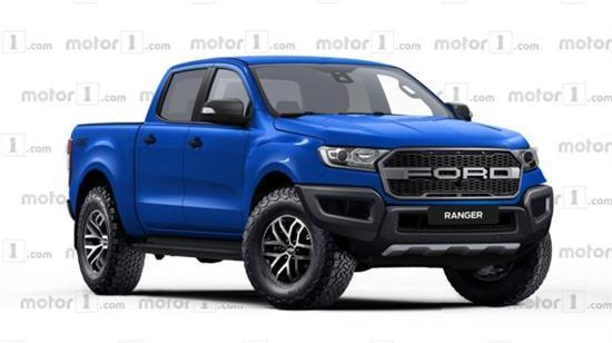 造型凶悍全新福特RangerRaptor假想图