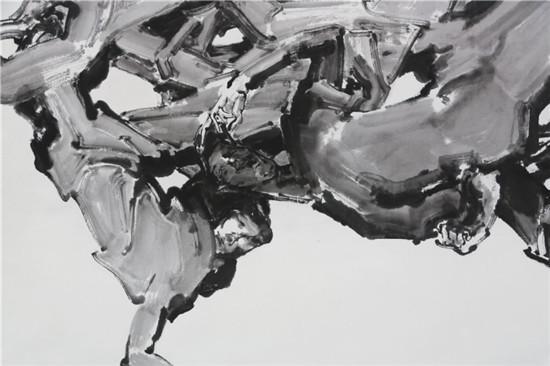 太空漂移:丁密金作品欣赏