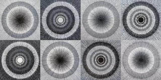 艺视中国 别人用笔画画,而他却创造了一部机器为自己画画