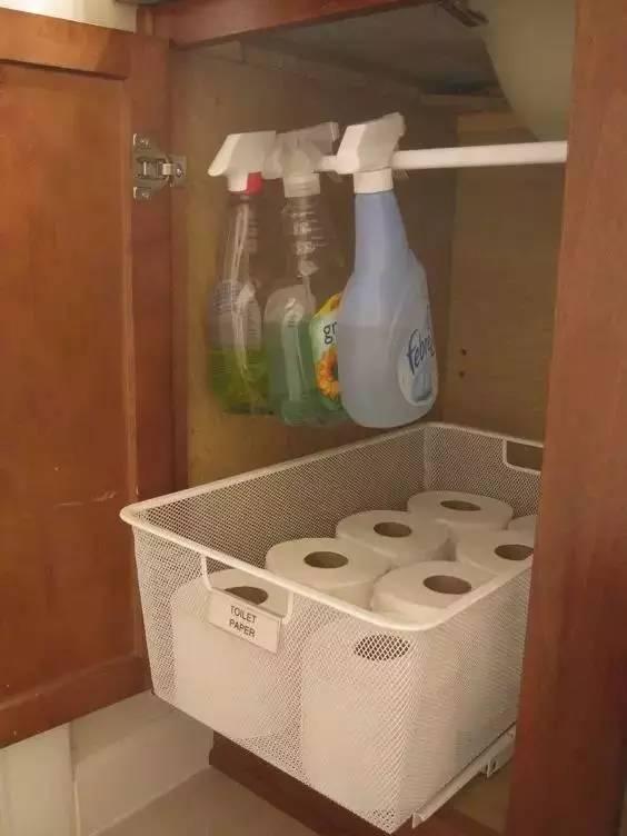 媳妇把家里的卫生间收拾成这样,老公一进门,完全看呆了!