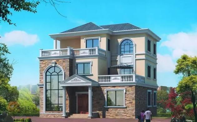八十平米小别墅设计图